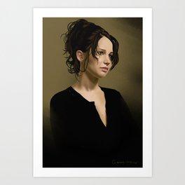 Jennifer Lawrence Art Print