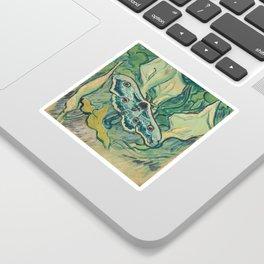 Van Gogh, Giant Peacock Moth, 1889 Sticker