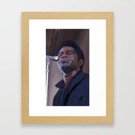 Godfather of Soul Framed Art Print