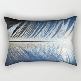 Feather Vignette Rectangular Pillow