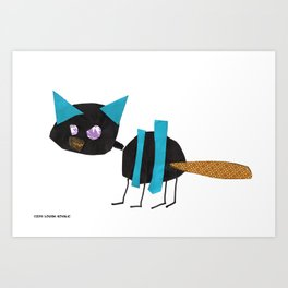 Louisa's Cat Art Print