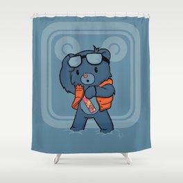 Marty McBear Shower Curtain