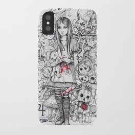 wonderland shattered iPhone Case