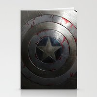 shield Stationery Cards featuring SHIELD by Bilqis