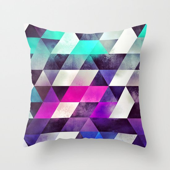 brykyn hyyrt Throw Pillow by Spires Society6