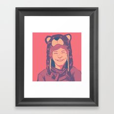 Baby Boo Framed Art Print