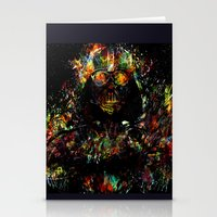 vader Stationery Cards featuring Vader by ururuty