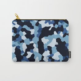 Pix Camo Shades of Blue Carry-All Pouch