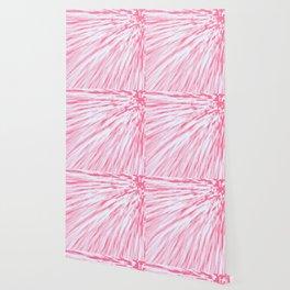Rose pink Pixel Wind Wallpaper