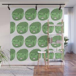 FMC Portrait Pattern Wall Mural