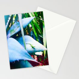 """AGAVE AND THE ANOLE"" Stationery Cards"