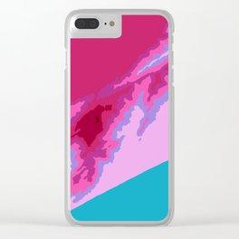 Praia Grande Clear iPhone Case