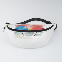 Table Tennis gift for Table Tennis Player retro Fanny Pack