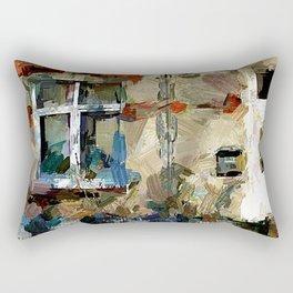 Haus mit Garten II Rectangular Pillow