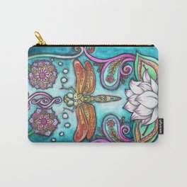 Enlightened Dragonfly Carry-All Pouch