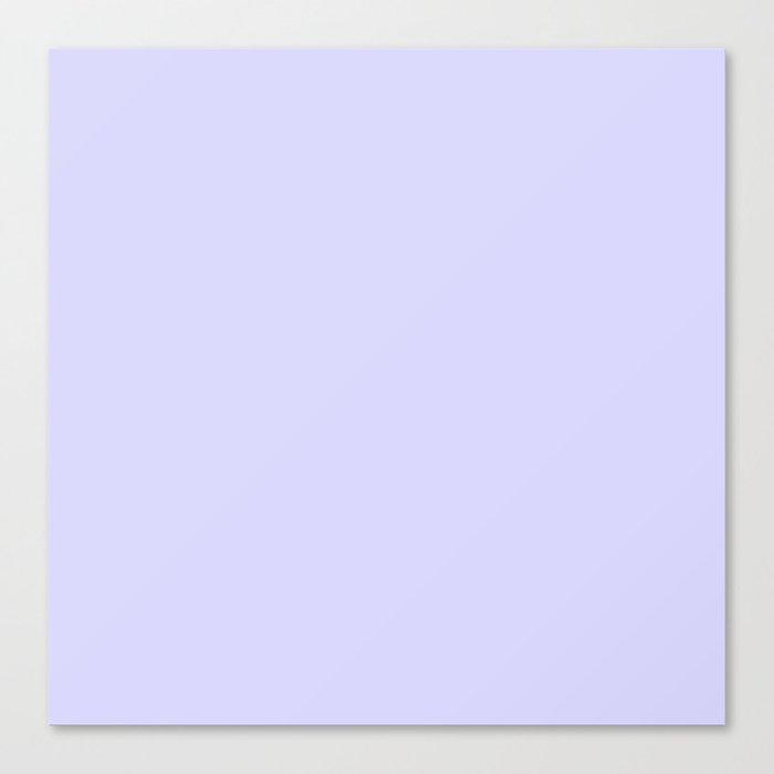 Simply Periwinkle Purple Leinwanddruck