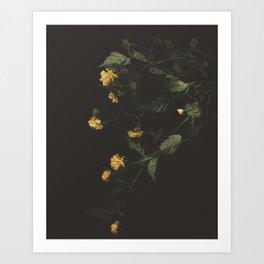 Yellow Night Art Print