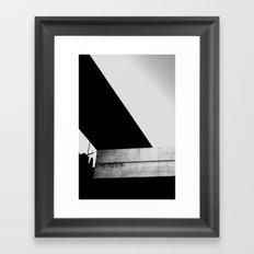 Roof lines 1 Framed Art Print