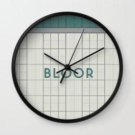 BLOOR | Subway Station Wall Clock