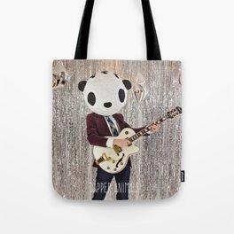 Peter Panda Rocking Out Tote Bag