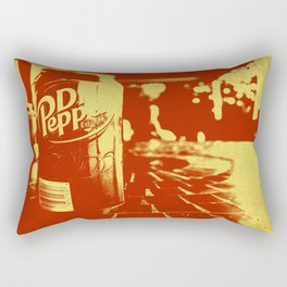 Pop Dr. Pepper Rectangular Pillow