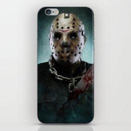 Jason Voorhees iPhone Skin