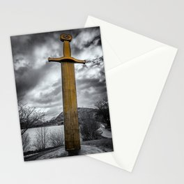 Llanberis Sword Snowdonia Stationery Cards