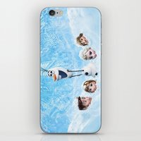 olaf iPhone & iPod Skins featuring FROZEN OLAF  by BESTIPHONE5CASESHOP