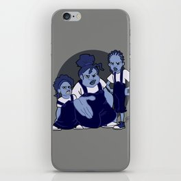 The Gross Sisters iPhone Skin