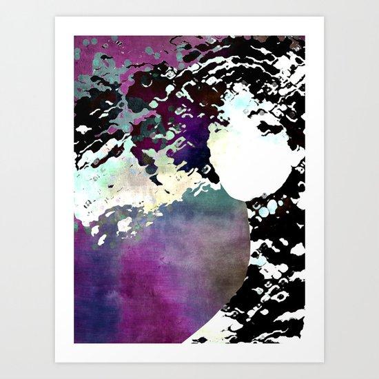 LADY-SILEX-3 Art Print