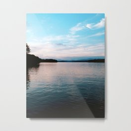 Blue Ridge Water Metal Print