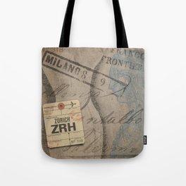 Frontiera ZRH-Milano Tote Bag
