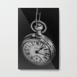 Time Hanging Metal Print