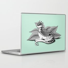 Poisonous Dragon-Teal Palette Laptop & iPad Skin