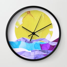 Daiquiri Sunrise, Sun Over Sea Wall Clock