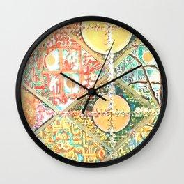 GOLDEN COINS Wall Clock