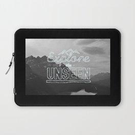 explore the unseen Laptop Sleeve