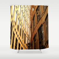 library Shower Curtains featuring Library  by Ethna Gillespie