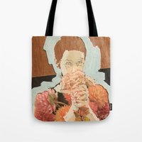 study Tote Bags featuring Study by Suzanna Schlemm