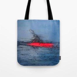 Wilderness Kayaker Tote Bag