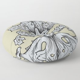 Feeder Floor Pillow