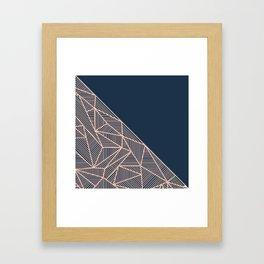 B Rays Geo 1 Framed Art Print