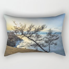 Harsh beauty of lake Baikal Rectangular Pillow
