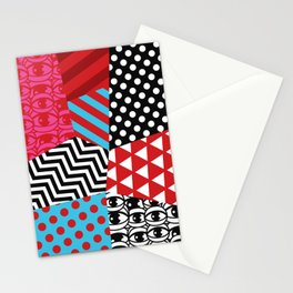 pattern bonanza Stationery Cards