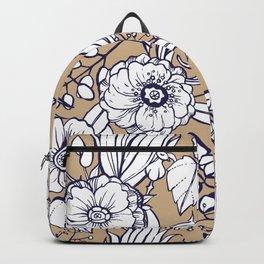 Autumnal bloom Backpack