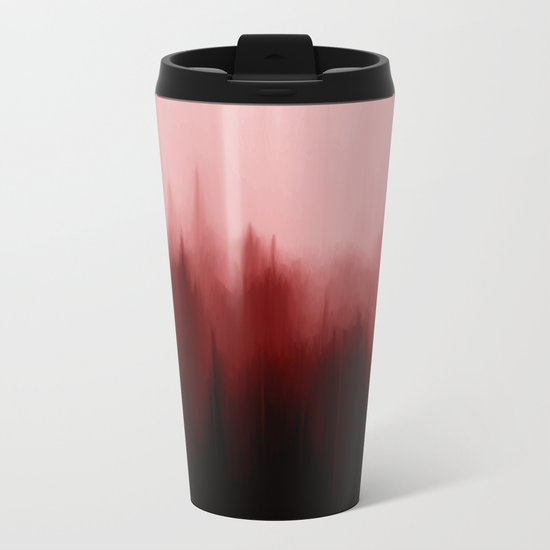 Blood Pines Metal Travel Mug