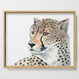 Cheetah Serving Tray