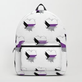Demisexual Heart Backpack