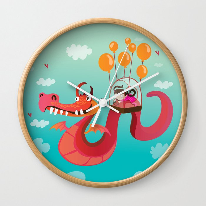 Dragona Wall Clock