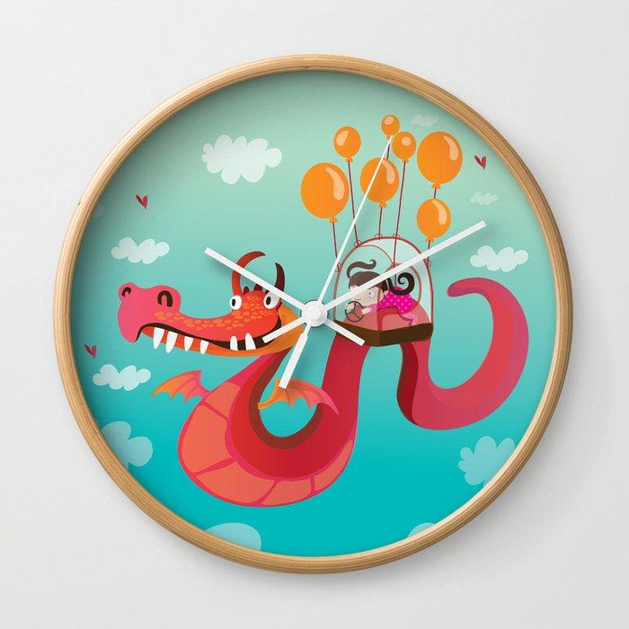 Dragona Wall Clock
